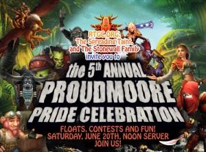 Virtual Pride on Proudmmoore