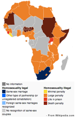 Africa Gay Rights. Each year pride parades are held in both Johannesburg and ...