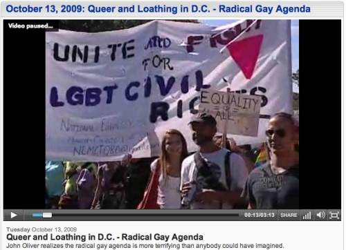 Daily Show Pride - Queer and Loathing in Washington D.C.
