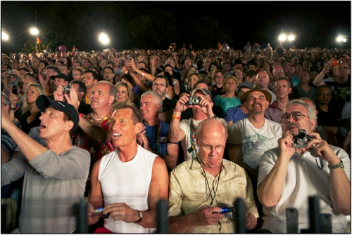 Crowd at Sydney Mardi Gras