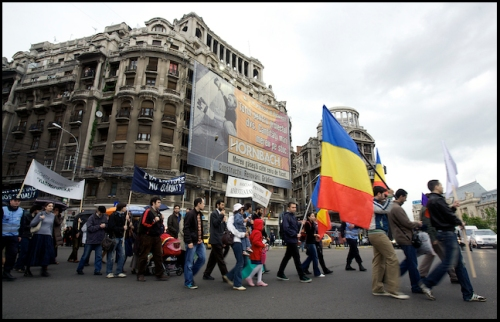 Family Values March in Romania