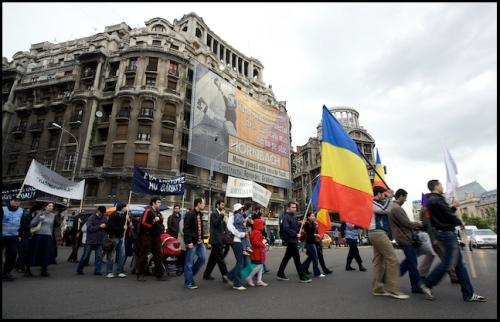 Family Values March in Romania