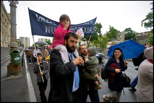 Romania's Family Value March 1