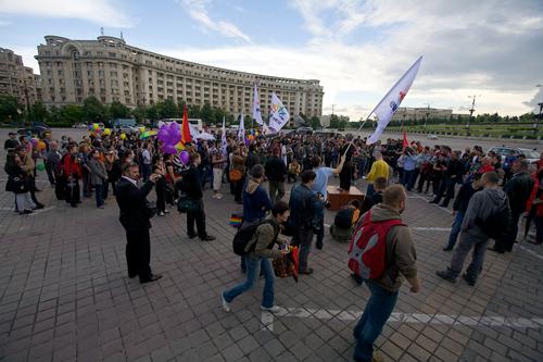 GayFest 2010 in Bucharest, Romania