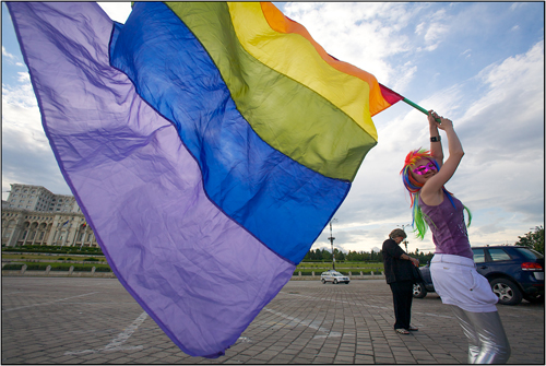 GayFest 2010 in Bucharest Romania