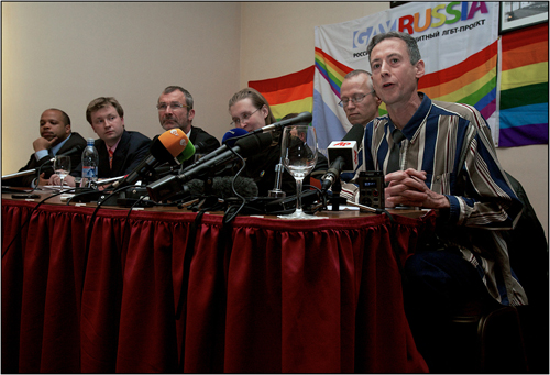 Moscow Pride 2010 Press Conference