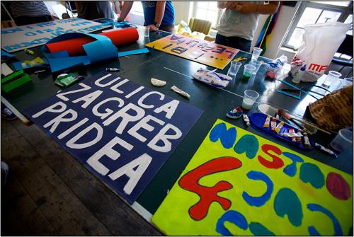 Zagreb Pride Signmaking