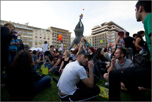 Athens Pride 2010 Monument