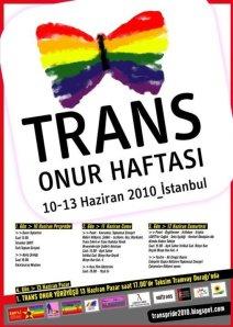 Istanbul Trans Pride 2010 Trans Onur Haftasi