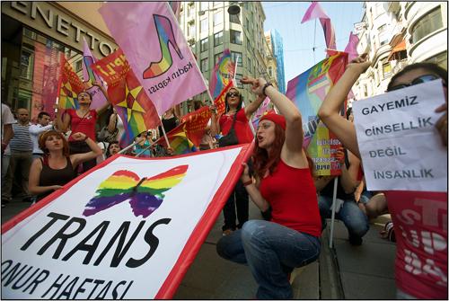 Istanbul Turkey Trans Pride